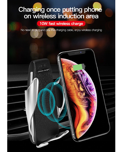 بررسی و خرید پایه نگهدارنده موبایل و شارژر وایرلستوتو سری King مدل CACW-029 دارای تکنولوژی QI