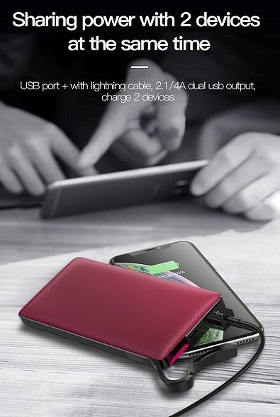 پاوربانک TOTU مدل CPBL-02 سری Pioneer - فروشگاه اینترنتی پارت لپ