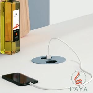 پانل اتصال TWIST به همراه شارژر USB باخمن