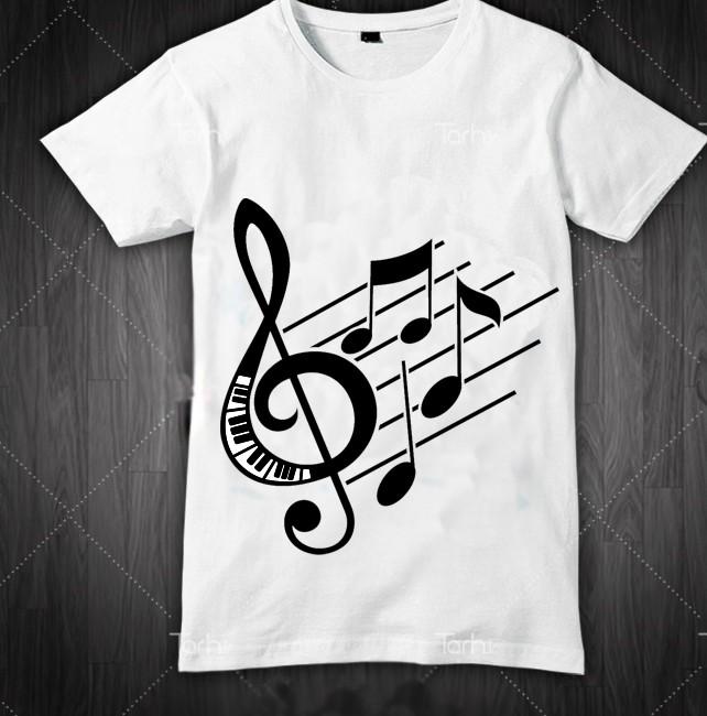 تی شرت طرح هنری نت