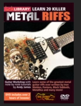 20  killers metal riffs