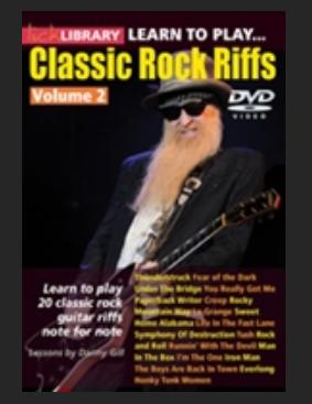 Classic Rock riffs