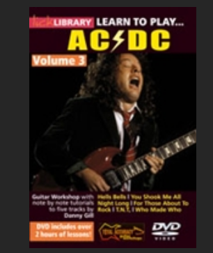 Learn to play ACDC disk3