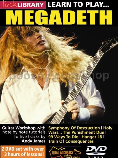 Learn to play Megadeth