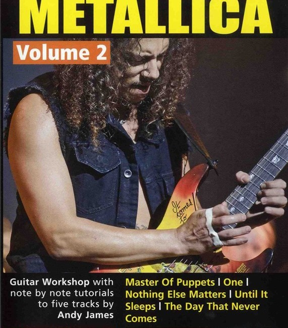 learn to play Metallica vol 1 2 3