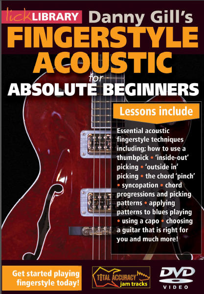 fingerstyle acoustic for absolute beginner Danny Gill