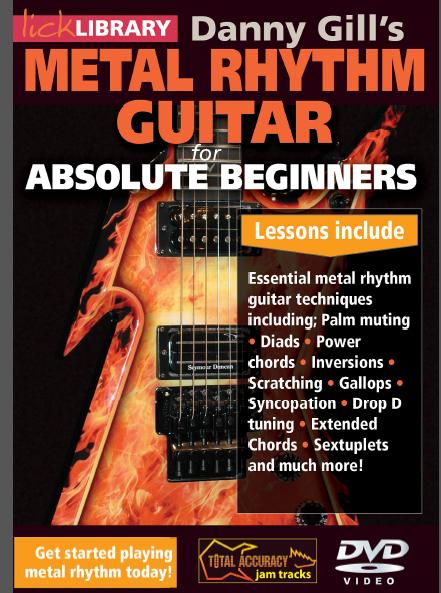 metal rhythm guitar absolute beginners