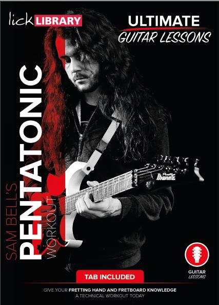 ultimate guitar lesson pentatonic workout