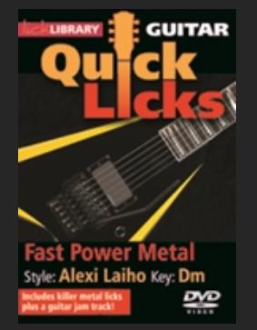 fast power metal Alexa laiho