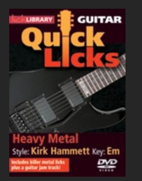 heavy metal Kirk Hammett