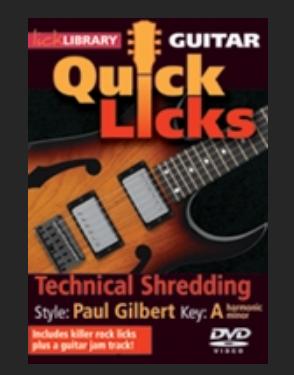 technical Shredding Paul Gilbert