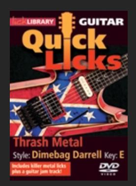 Thrash metal dimebag Darrell