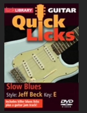 Slow blues Jeff Beck