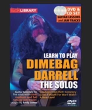 Dimebag Darrell the solos