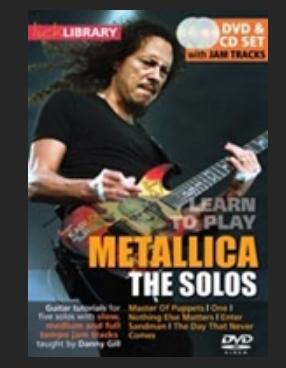 Metallica the solos