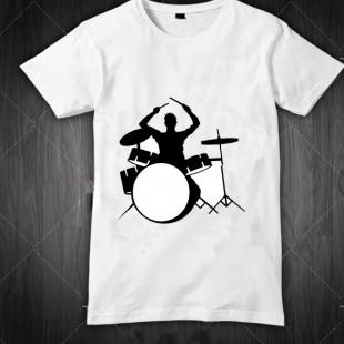 تی شرت طرح درامر