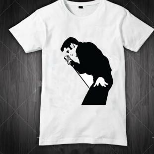 تی شرت طرح الویس خواننده