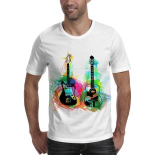 تیشرت طرح گیتار