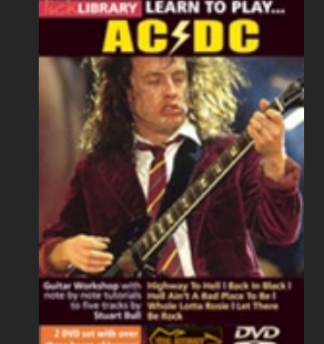 Learn to play ACDC disk1