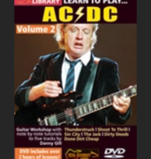 Learn to play ACDC disk2