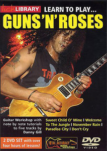 Learn to play Guns and roses