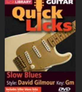 slow blues David gilmour