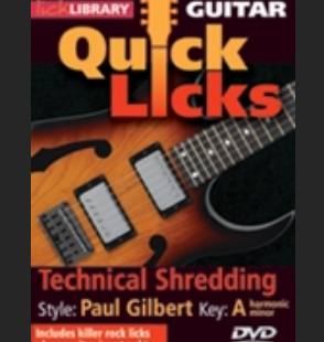 technical Shredding Paul Gilbert