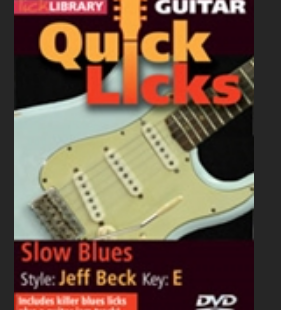Slow blues Jeff Beck