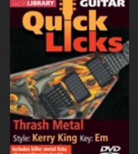 thrash metal Kerry King
