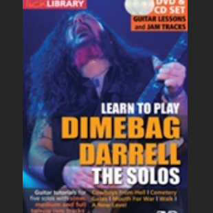 Dimebag Darrell the solos