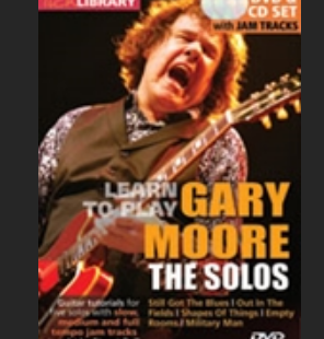 Gary Moore the solos