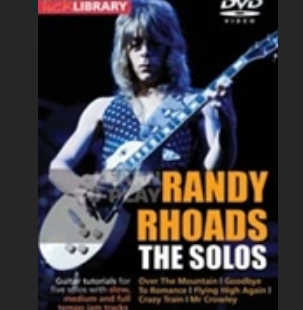 Randy rhoads  the solos
