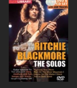 Ritchie Blackmore the solos