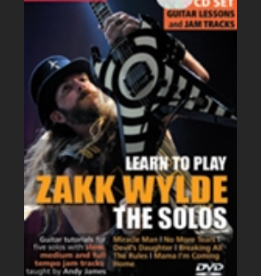 Zakke wylde the solos