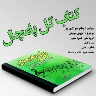کتاب گل پامچال اثر پیام جوادی پور