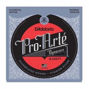 سیم گیتار کلاسیک D'Addario Pro Arte EJ45TT