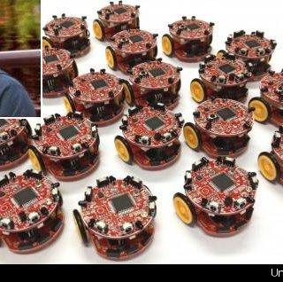 ساخت رباتهای ارزان با رفتارهای دستهجمعی