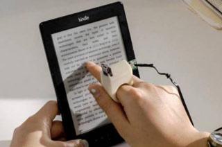 ساخت ابزار انگشتمحور برای کمک به نابینایان