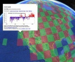 ثبت سوابق دمای جهان در گوگل ارث
