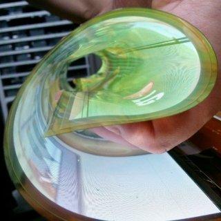 صفحه نمایش یک میلیون مگاپیکسلی LG لوله میشود!