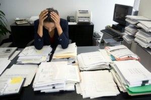 چگونه استرس در محل کارمان را کم کنیم؟