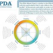 نمودارهای راداری PDA