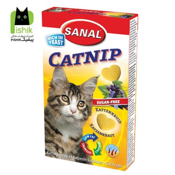 مکمل غذایی گربه به همراه سنبل الطیب کت نیپ (۳۰ گرم) سانالSanal Cat Catnip 30gr
