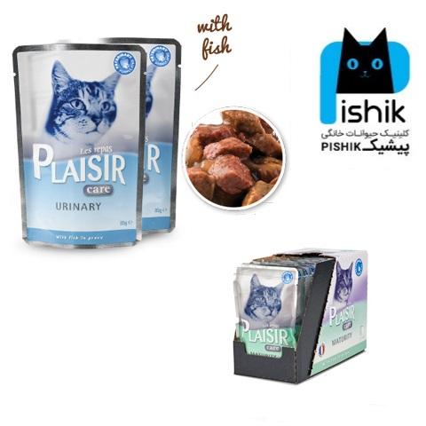 سوپ درمانی مجاری ادراری و کلیه مخصوص گربه 85 گرمی پلازیر