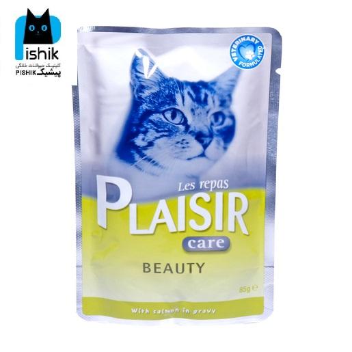 پوچ درمانی گربه پلازیر برای پوست و مو 85gr