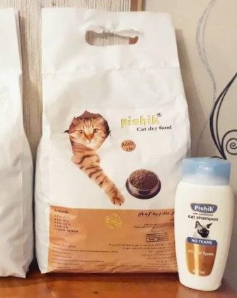 غذای گربه 3 کیلویی پیشیک
