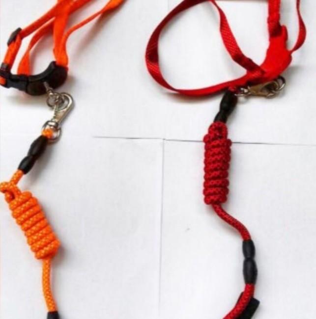 قلاده بدنی با بند طنابی دسته دار قابل کنترل
