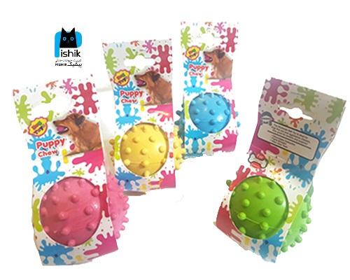 توپ بازی لاتکس برند Dog Toy