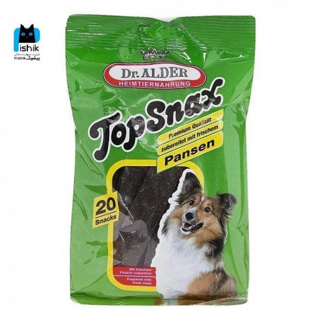 تشویقی سگ دکتر آلدرز با طعم شکمبه مدل  بسته 20 عددی