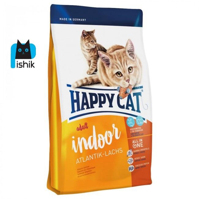 غذای گربه بالغ هپی کت سوپر پریمیوم آتلانتیک 1.4 کیلوگرمی